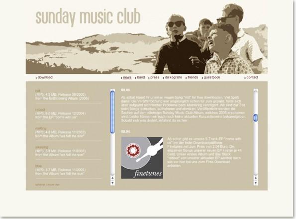 SundayMusicClub_Webseite